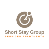 Short Stay Group Logo Serviced Apartments in Paris, Amsterdam, and Barcelona