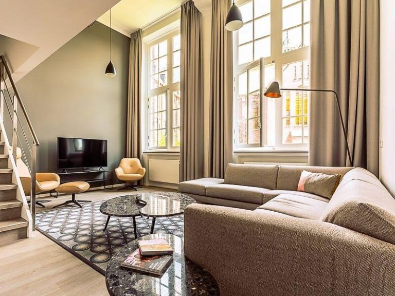 Living Room of Serviced apartment by Ingenhousz in Breda, the Netherlands